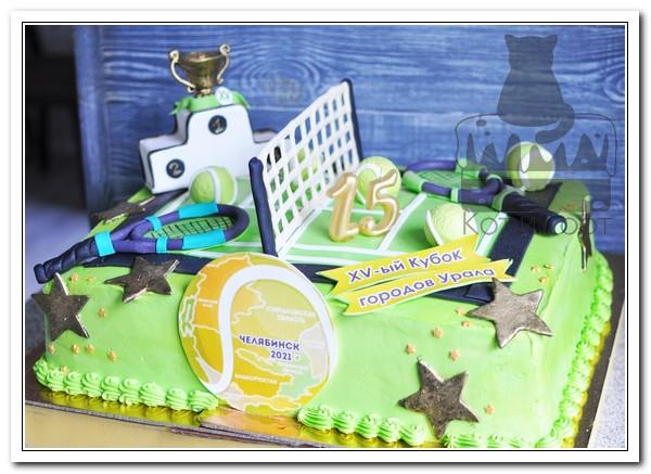 Торт для Кубка по большому теннису