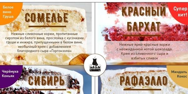 Новая инфографика от Кота и Торта